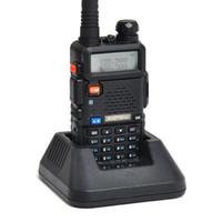 Baofeng UV -5R UV5R Walkie Talkie Dual Band 136 -174MHZ 400 -520 МГц Двухсторонний радиопередатчик с батареей без батареи 1800 мАч (BF -UV5R