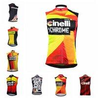 Cinelli 팀 사이클링 민소매 유니폼 조끼 프로 자전거 망 Maillot Ropa Ciclismo 사이클링 민소매 저지 MTB Bicicleta 의류 101313