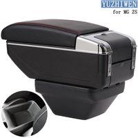 Pour MG ZS AccoudREST Coffret ZS Universal Auto Accoudoir central Type de levage Boîte de rangement Porte-gobelet Cendrier Modification des accessoires1
