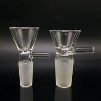 Accesorios para fumadores Galsses Adaptador Convertidor para BONG 14mm 18 mm hembra a masculina Cuarzo Banger Back Tinte grueso Forsted Pyrex Glass Water Pipes VT0067 125 J2