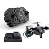 Serman 901H Pocket Mini Drone HD Photographie aérienne avec caméra WiFi Mini quadriculaire RC pliable RC pour enfants Jouets