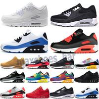 Nike Air Max 90 2019 Cheap Hot Sale Tavas SE 90 ares Thea Imprimir Homens mulheres Formadores de desconto Autêntico 87 Airs Sapatos 36-45 c13