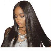 Silky Straight Vierge Humain Hair Extensions moins chères Brésiliennes Head Head Hair Tissu EXTENSIONS DE DOUBLE TRADIABLE DYREABLE DE TRAYABLE 100G PC
