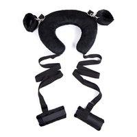 Brinquedos Sexuais para Mulheres BDSM Bondage Erótico Nylon Handcuffs BDSM Sexo SM Produtos Brinquedo Para Adultos Sexto Intimate Bens de Casal Jogo