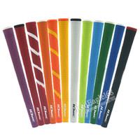 جديد جولف القبضات عالية هواليتي المطاط Iomic جولف الخشب السيطرة مع 12 ألوان في الاختيار 10 قطعة / الوحدة الحديد القبضات شحن مجاني 201029