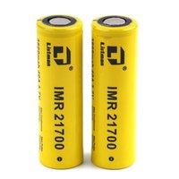 100% original listman imr 20700 3400mAh 21700 3800mAh 40A 3.7V Bateria recarregável de alta drenagem para 510 thread caixa de vitela mod autêntico