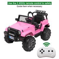Детские езды на автомобиле с дистанционным управлением 12V аккумулятор электрический автомобиль 2 цвета детские подарки