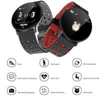 Neue 119 Plus Smart Armband Herzfrequenz Smart Uhr Mann Armband Sport Uhren Band Wasserdichte Smartwatch Android mit Wecker
