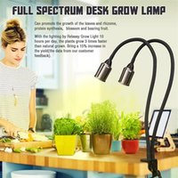 Bestseller 24 Watt dimmbar Zwei-Kopf-flacher Clip-Mais Grow-Beleuchtung Vollspektrum warmweiß Pflanzenlicht für Innenpflanzen