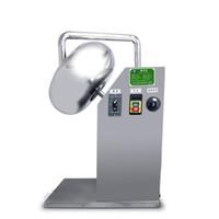 220V kommerzielle Zucker-Süßigkeiten-Tabletten-Beschichtungsmaschine Elektrische Mini-Pille Poliermaschine Pellets-Coater mit Heißluftgebläse