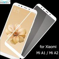 9H Твердость закаленного стекла для Xiaomimi A2 / MIA1 экран протектор 2.5D стеклянный фильм для стекла Xiaomi MIA2 / Xiaomi MIA1