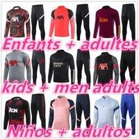 Çocuklar + Erkekler Yetişkinler 2122 Futbol Futbol Eşofman Eğitim Takım Elbise Ceket 2021 2022 Survetement Ayak Chandal Tuta Jogging 888