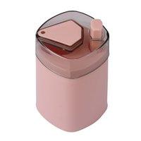 التلقائي مسواك حامل الحاويات الإبداعية البلاستيك المنزلية المنزلية مسواك تخزين مربع المحمولة مسواك دلو موزع 80 J2