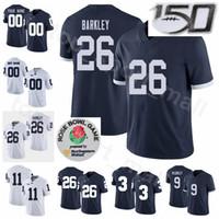 NCAA Psu College Football 26 Saquon Barkley Jersey 9 Trace Mcsorley 1 Joe Paterno 22 Akeel Lynch 2 Marcus Allen Mike Gesicki Personalizado