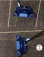 Gratis Snabb leverans Toppkvalitet Blå Färg Spindel Golf Putter 33 34 35 inches Tillgänglig 3 Färger Alternativ Real Photos Kontakta säljare