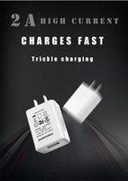 100 قطع 5V2A الهاتف المحمول الولايات المتحدة USB شاحن ul FCC شهادة شحن رئيس الراقية أوروبا والولايات المتحدة شاحن USB محول الطاقة XU-2A