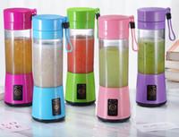 380 ml Blender personal Portátil Mini Blender USB Juicer Cup Ecuador eléctrico Juicer Botella Herramientas de verduras ZZC3122