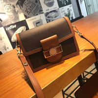 أعلى جودة الفاخرة حزمة القيمة الأزياء حقيبة الكتف الصغيرة التصاميم العلامة التجارية الكلاسيكية حقائب اليد القديمة زهرة crossbody محفظة