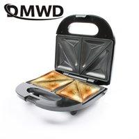 DMWD Multifunción Huevos eléctricos Sandwich Maker Mini Pan Grill Waffle Crepe Toaster Pancake Horneado Máquina de desayuno EU Plug T200414