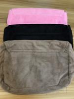 Borsa per il trucco morbido moda classico inverno 3 colori pelliccia di pelliccia borsa a tracolla flanellata borsa di stoccaggio peluche di buona qualità