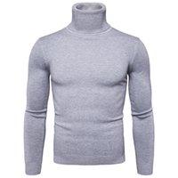 Favocent Winter Tople Turtleeneck свитер мужчина мода твердые трикотажные мужские свитеры повседневная мужчина двойной воротник Slim Fit Pullover 201017
