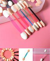 Éponge Stick Stick Shadow Applicateur Applicateur Maquillage Cosmétique Outils à oreilles à double tête Badigeonnerie pour les femmes Maquillage Outil