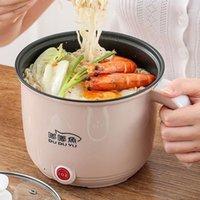 Fogões de arroz Fogão Elétrico Dormitório Dormitório Multi + Fogão MultiMooker para Pot Fácil e Fritar Steak Office Easy 220v1