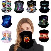 Tra gli Stati Uniti Designer Masks Cycling Outdoor Face Cover Respirazione PM2.5 Sciarpe da Bib stampata Multi Funzionale Seamless Seamless Sciarf Seamless Mask
