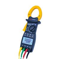 Multimetreler Tek 3 Fazlı Gerçek RMS Multimetre Elektrikli Enerji Faktörü Test Cihazı Harmonik Güç Kelepçe Ölçer RS232C Arayüzü ile