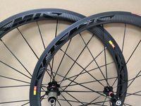 3K twill weave cosmic SLR Carbon Wheels 700C 38mm Clincher 25mm Width Road Bike Wheelset