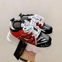 أطفال أحذية رياضية الرضع طفل حذاء إيطاليا مصمم متعدد الألوان المطاط الجلد المدبوغ ليوبارد الأبيض طباعة سميكة أسفل الفتيان بنات أحذية كرة السلة