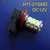 Luces de coche de alta calidad, 12V H3, H3, H7 LED, 9005, H8, HB3, HB4 LED, Lámpara de niebla LED de Coche 9006, bombilla H8, lámpara automática H8, envío gratis 10pc / lot1