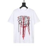 20sS Männer Mode Beiläufige Lose Kurzarm T-shirt Hohe Qualität Gestickte Quaste Rundhals-T-Shirt-Größe XS-L