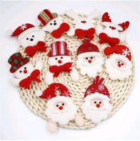 Рождественский подарок светодиодный светящийся Санта снеговик олень медведь сияющий мигающий мультфильм Брошь значок игрушка рождественские светящиеся украшения WQ554