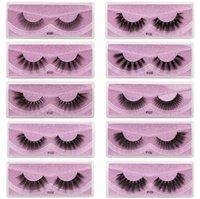 100% норковые ресницы оптом натуральные ложные ресницы 3D норковые ресницы мягкие составляющие наращивание наращивание поддельных глаз ресниц 3D