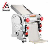 NT-160 Nudel-Pressemaschine Automatische kommerzielle Edelstahl Electric Pasta Maker Maschine Teigschneider Dumpling Skin1