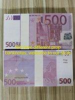 ملهى ليلي يورو لاحظ واقعية 500 30 فيلم مقابل المال تلعب المال مجموعة البنك العمل وهمية ورقة المال نسخة معظم دعامة SVBVF