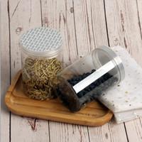 85 * 120mm Plastik Ambalaj Kutuları Çay Çeşitli Tahıllar Kuru Meyve Mühürlü Kutular Pet Gıda sınıfı Depolama Mühürlü Kutular