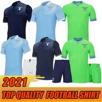 20 21 New Lazio Soccer Jersey 2020 2021 Lazio Luis Alberto J.Correa Camiseta de Fútbol Immobile Sergej قميص كرة القدم عالي الجودة