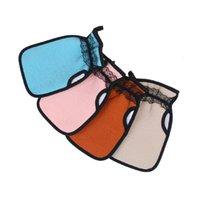 Badehandschuhe Pinsel Pensionen EXFOLIATOR Zweiseitige starke Dekontamination Haushaltsspitze Badewannen Handschuh Meiste Körperreinigungszubehör 32 P2