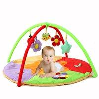 Baby play mat cotone morbido muoversi culla giocattoli educativi speelmat baby kids tappeto per bambini attivi playmat neonato sportivo palestra mat LJ201113