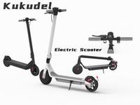 Kukudel Folding 853 Electric Skateboard Roller Fahrrad Faltbarer Kick Roller 36V 7.5Ah Escooter 25km / h Mobility Electric Scooter