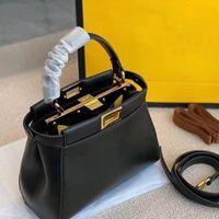 Womens luxurys Designers Crossbody Totes Sacs Haute Qualité Véritable Véritable Real Cuir Peekaboo Sacs à main Pourse Sac à main Bandoulière Sac