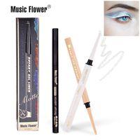 كحل 2 في 1 عينيه قلم رصاص 16 ألوان للماء طويل الأمد الروتاري هلام بطانة ماتي العين أدوات ماكياج القلم