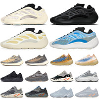 Adidas yeezy boost 700 v2 kanye west Running Shoes Masculino Trainers Azael Alvah Safflower 380 Mist Blue Oat Lmnte 700s Cinza Sólido Vanta Static Outdoor Sports Tênis