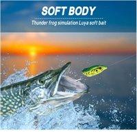 Мягкая лягушка для рыбалки Двойные крючки 5.5см 14 г Верхняя вода Ray лягушка Искусственная рукоятка Bait Mini Рыболовная приманка рыбалка TAC SQCYNG
