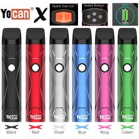 Yocan x Pod Starter Kit Портативный 500MAH Vape Устройство с картриджем QDC Предварительно нагрев VV режим генина
