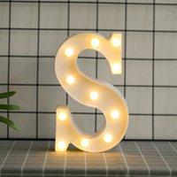 아랍어 숫자 LED 야간 가벼운 생일 결혼식 축하 사랑 하트 모양의 26 개의 한국어 문자 크리스마스 램프 뜨거운 판매 5 3HB J2