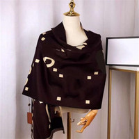 جديد وصول النساء الكشمير وشاح الخريف الشتاء أزياء الرجل إمرأة شال وشاح شعرية رسائل الأوشحة الحجم 190x65 سنتيمتر أعلى جودة