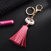 Glitter Fox Faux Leather Tassel Fringe Woman Diy Bag Jewelry...